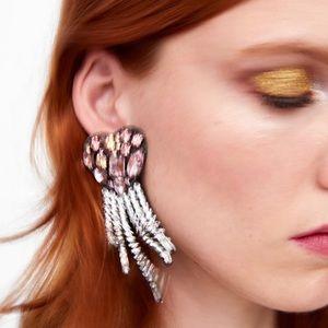 Limited Edition heart shaped pendant earrings